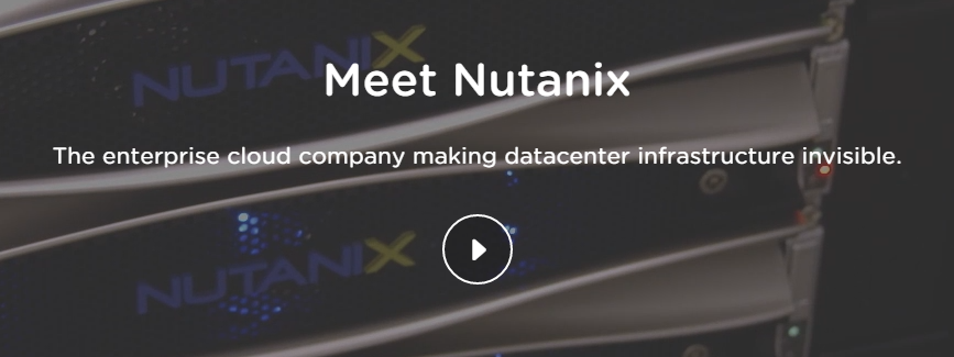 Meet Nutanix VIDEO